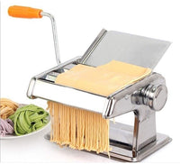 Dessini Stainless Steel Manual Pasta Maker Noodle Making Machine
