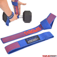 Max Strength Weight lifting Gym Training Bar Straps Padded Wrap Hand Bar Padded Wrist Support