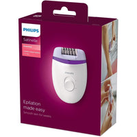Philips Satinelle EssentialCorded compact epilator BRE225