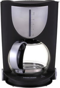 Black & Decker 800W 15 Cup Coffee Maker, Black, DCM80-B5, 2 Year Warranty