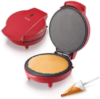 Saachi Waffle Cone Maker NL-CN-2352-RD with Automatic Temperature Control