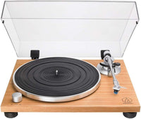 Audio-Technica AT-LPW30TK Manual Belt Drive Wood Base Turntable