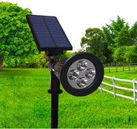 Solar light outdoor Garden Lawn Lamp 6500K - White