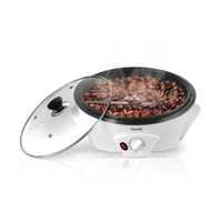 Saachi Coffee Roaster NL-CR-4962-WH with a Die-Cast Roasting Pan