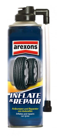 Arexons Tyre Repair and Inflate 300ml