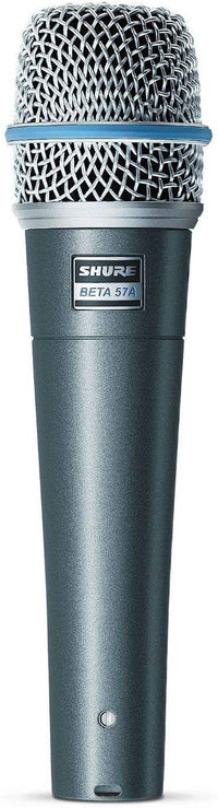 Shure BETA 57A Supercardioid Dynamic Microhone with High Output Neodymium Element for Vocal/Instrument Applications