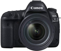 Canon EOS 5D Mark IV 24-70mm F/4L Lens - 30.4MP DSLR Camera