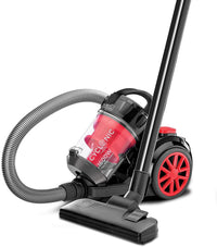 Black+decker 1600w Bagless Cyclonic Canister Vacuum Cleaner Vm1680-b5, Multi-Colour