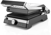 BLACK+DECKER Contact Metal Grill 2000W CG2000-B5 - Black/Silver