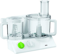 Braun Food Processor, White, 600W, FX 3030