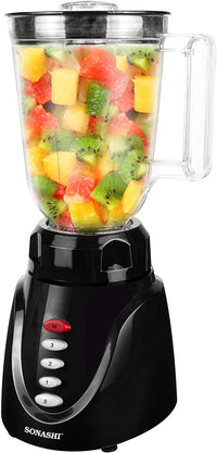 Sonashi 3 Speed Blender 350W Black SB-141