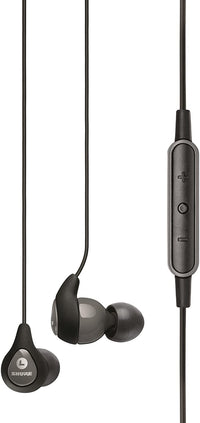 Shure Sound Isolating Earphones Earphones with Remote and Mic SE112m+-GR