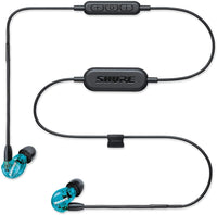 Shure SE215SPE-B-BT1-EFS Special Edition Wireless Sound Isolating Earphones, Blue