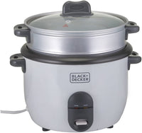 Black & Decker RC1860-B5 1.8L Rice Cooker White