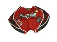 Danger Shorts Muay Thai Red Passion