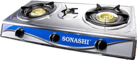 Sonashi Three Gas Burner