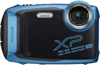 Fujifilm - FUFPXP140 FinePixXP140WaterproofDigitalCamera-SkyBlue