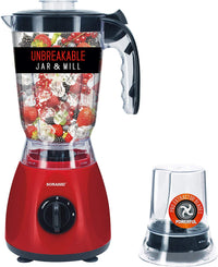 Sonashi 2 In 1 Unbreakable Jar & Mill Blender - SB-144