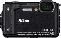 Nikon Coolpix W300 Camera, 4k Uhd, Digital Camera (Black)
