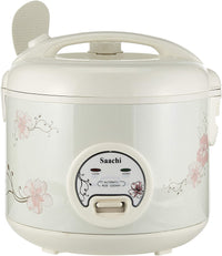 Saachi 1.8L Rice Cooker NL-RC-5174-WH with Steam Function