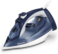 Philips Powerlife Steam Iron GC2994/26, 2400 W, White with Black, 150g Steam Boost blasts stubborn creases, Steam Output up to 40 g/min for strong, steady performance., 2 Year Warranty, UAE Version