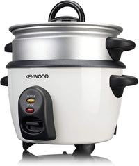 Kenwood 2 in 1 Rice Cooker with Steamer - White, RCM29