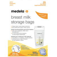 Breastmilk Storage Bags Pack Of 25 By Medela