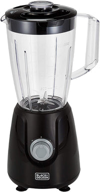 Black+Decker 400W 1.5L Blender , Black - BX440-B5, 2 Years Warranty