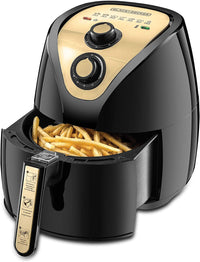 Black+Decker Air Fryer 2.5L AerOfry AF250G-B5 - Black/Gold