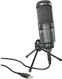 Audio-Technica AT2020USB+ Cardioid Condenser USB Microphone AT2020USB PLUS