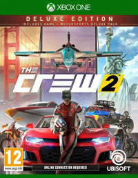 The Crew 2 - Deluxe Edition (Intl Version) - Racing - Xbox One