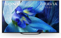 Sony A8G 65 Inch TV | BRAVIA OLED 4K Ultra HD | Android Smart TV with HDR | 2019 Model | KD 65A8G - Black