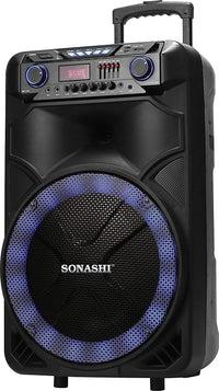 "Sonashi 15"" Rechargeable Trolley Speaker"