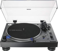 Audio-Technica AT-LP140XP-BK Manual Direct Drive Turntable AT-LP140XP-BK