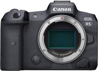 Canon EOS R5 Body Mirrorless Digital Camera Body - Black