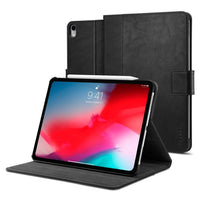 Spigen Apple iPad Pro cover / case - Version 2 Apple Pencil compatible with Auto Sleep / Wake