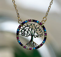 Mother of Trees 925 Silver Necklace