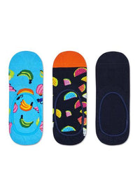Happy socks, 3-Pack Banana Liner Sock