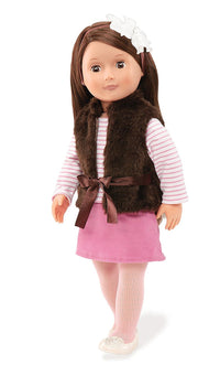 Doll With Vest, Sienna