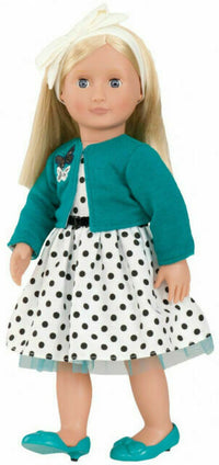 "18"" Retro Doll Ruby, Blonde"