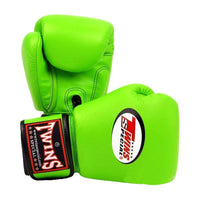 TWINS SPECIAL BOXING GLOVES BGVL3 LIGHT GREEN