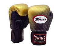 TWINS SPECIAL BOXING GLOVES FGBVL3-TW1 GOLD/BLACK