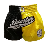 Booster Shorts BS 22 Black Yellow