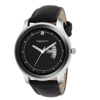 Black Leather Strap With Multi-Colour Dial Watch for Men
