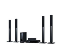 LG 5.1ch DVD Home Theatre System LHD657 Black