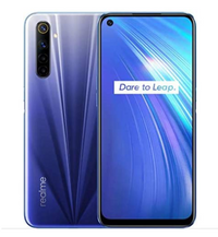 "Realme 6 Smartphone - 6.5"" Display, Android 10, 128GB, 8GB"