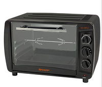 Sharp 35 Liters, 1500 W Electric Oven, Black - EO-35K-3