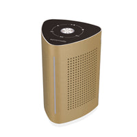 Promate Wireless Speaker, High-Quality 36W Bluetooth Speaker Surface Vibration Sound with Touch Control System, 3.5mm Audio Jack and Built-In Microphone for Smartphones, Tablets, Karaoke, Laptops, Pcs, Cyclone Gold