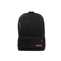 Promate - Premium 15.6 inch Laptop Backpack Bag With Multiple Pocket Options, Drake - Black
