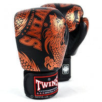 TWINS SPECIAL BOXING GLOVES FBGVL3-49 COPPER/BLACK